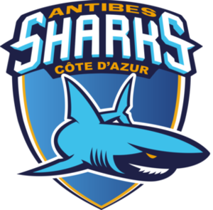 Olympique Antibes - Image: Antibes Sharks logo