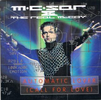 Real McCoy - Automatic Lover (Call for Love) (studio acapella)