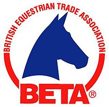 Image result for british equestrian trade association logo
