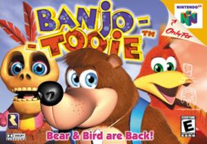 Banjo-Tooie - Image: Banjo Tooie Coverart