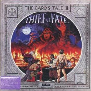 The Bard's Tale III: Thief of Fate - The Bard's Tale III box cover