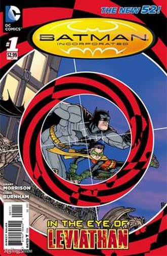 Batman Incorporated - Image: Batman Inc V2no 1