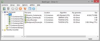 BestCrypt - Image: Best Crypt for Windows v.9