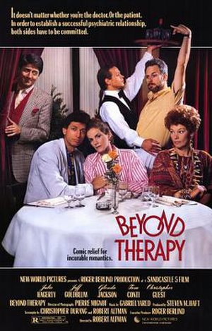 Beyond Therapy (film) - Theatrical release poster