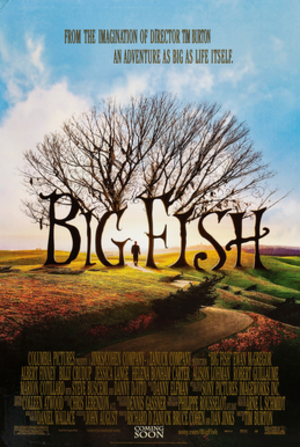 Big Fish - Theatrical release poster