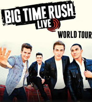 Live World Tour - Image: Big Time Rush Live World Tour