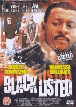 Black Listed - DVD cover
