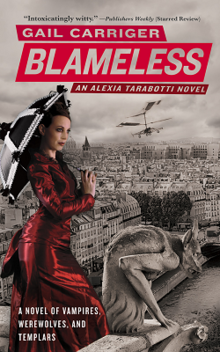 Blameless by Gail Carriger 1st edition cover.png