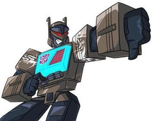Blaster (Transformers) - Shattered Glass Blaster