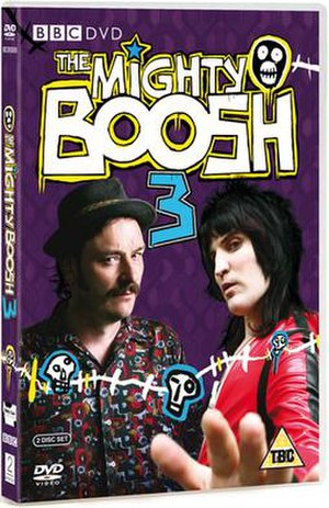 The Mighty Boosh (series 3) - Image: Boosh s 3