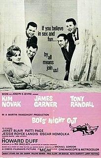 <i>Boys Night Out</i> (film) 1962 film