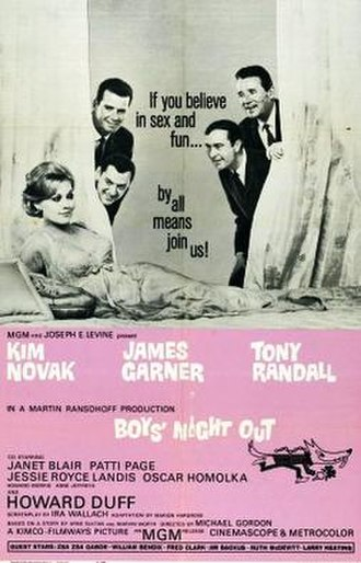 Boys' Night Out (film) - theatrical film poster