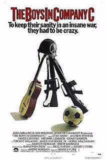 <i>The Boys in Company C</i> 1978 film directed by Sidney J. Furie