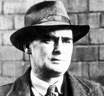 Picture of an author: Flann O'brien