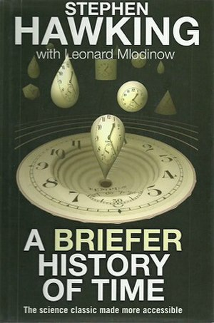"A Briefer History of Time (Hawking and Mlodinow book) - Cover of ""A Briefer History of Time"""