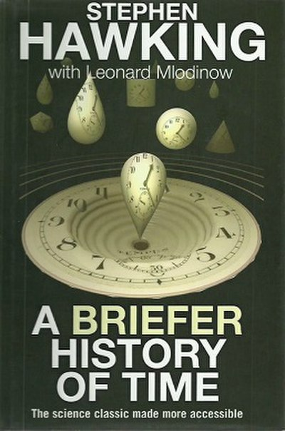 Picture of a book: A Briefer History Of Time