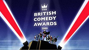 British Comedy Awards - British Comedy Awards 2009 logo