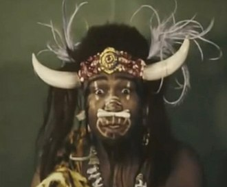 "The Kid from Borneo - Bumbo a.k.a. ""Wild Man From Borneo"" / mistaken Uncle George (John Lester Johnson)"