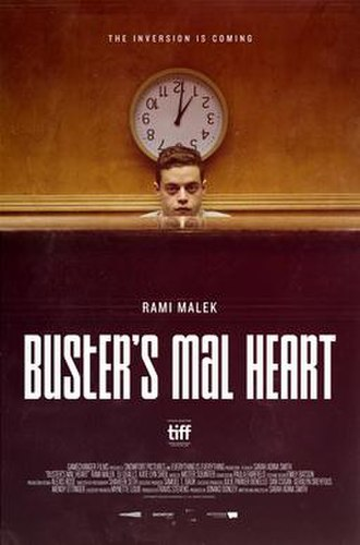 Buster's Mal Heart - Theatrical release poster