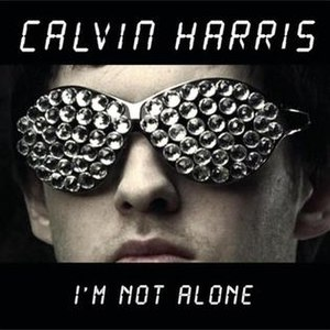 Calvin Harris - I%27m Not Alone - Single Artwork