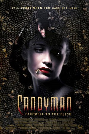 Candyman: Farewell to the Flesh - Theatrical release poster