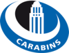 Montreal Carabins women's ice hockey athletic logo