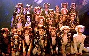 Cast of the filmed version of Cats.