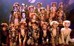 Cats (1998 film) - Partial cast of the filmed version of Cats.