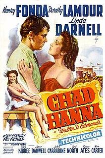 <i>Chad Hanna</i> 1940 film by Henry King