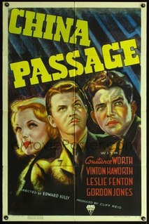 <i>China Passage</i> 1937 American mystery film directed by Edward Killy