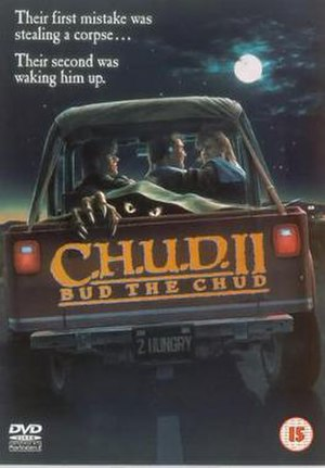 C.H.U.D. II: Bud the C.H.U.D. - UK DVD cover for the film
