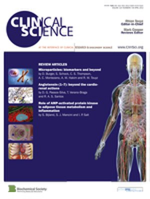 Clinical Science (journal) - Image: Clinical Science Journal Cover April 2013