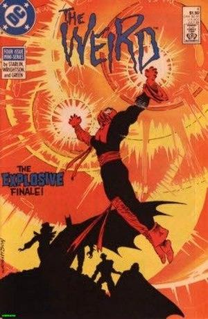 Weird (comics) - Image: DC Weird 4