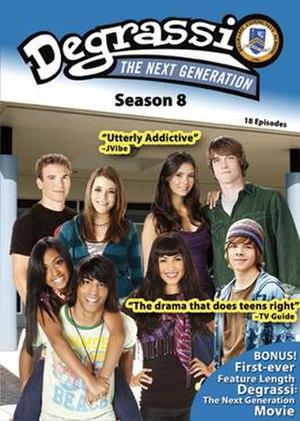 Degrassi: The Next Generation (season 8) - Degrassi: The Next Generation Season 8 DVD