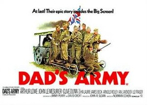 Dad's Army (1971 film) - Theatrical release poster
