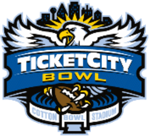 2012 TicketCity Bowl - TicketCity Bowl logo