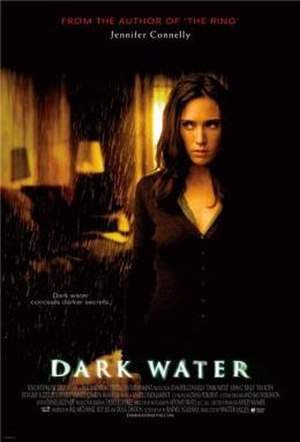 Dark Water (2005 film) - British theatrical release poster