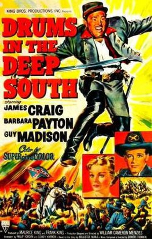 Drums in the Deep South - Original film poster