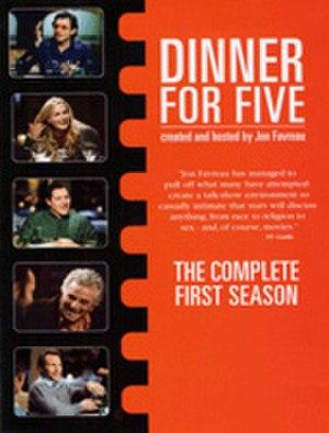 Dinner for Five - Cover of 1st Season DVD