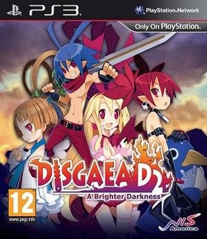 Disgaea D2: A Brighter Darkness - Image: Disgaea D2 cover