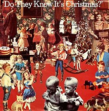 Image result for do they know it's christmas band aid