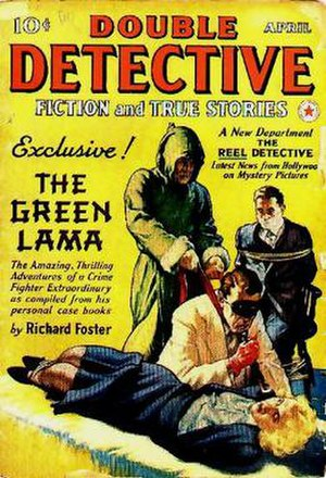 Green Lama - Image: Double detective 194004