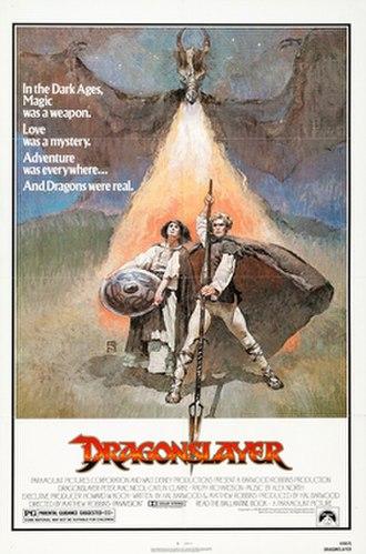 Dragonslayer (1981 film) - Image: Dragonslayer Poster