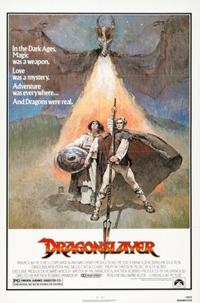Picture of a movie: Dragonslayer