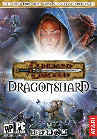 Dungeons & Dragons: Dragonshard - Cover art