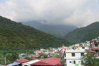 Mountain indigenous township