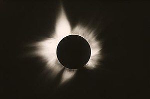 High Altitude Observatory - Image: Eclipse in 1970, Mexico (DI00448)