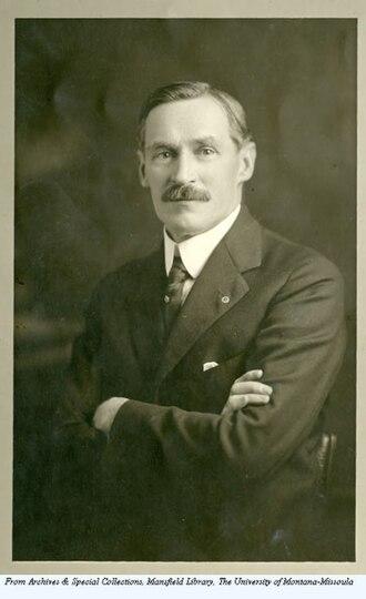 Presidents of the University of Montana - Oscar J. Craig