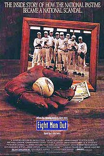 <i>Eight Men Out</i> 1988 film by John Sayles