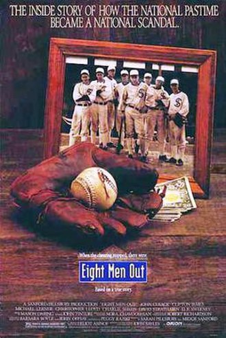 Eight Men Out - Theatrical release poster